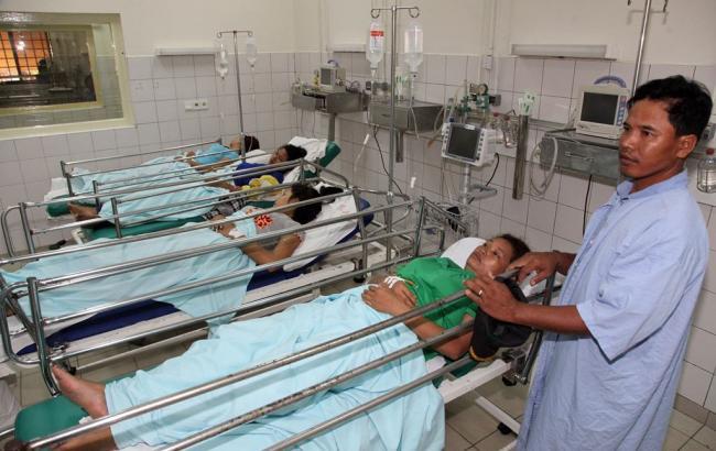Фото: больница в Камбодже