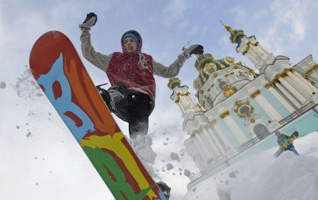 Киевлян предупреждают о снеге и гололеде 29 ноября