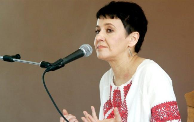 Фото: Оксана Забужко (argumentua.com)