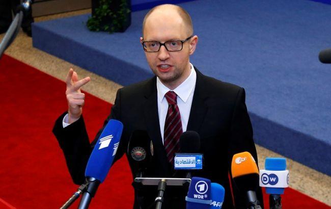 Яценюк хочет открыть в Украине корпункты ведущих мировых телеканалов