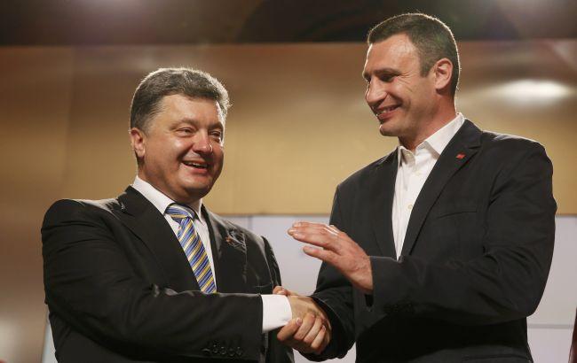 Киевский торт: Порошенко поглощает Кличко
