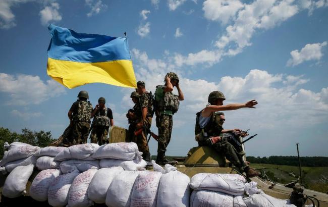 На Донбасі за добу поранено 3 бійців сил АТО, загиблих немає, - АП