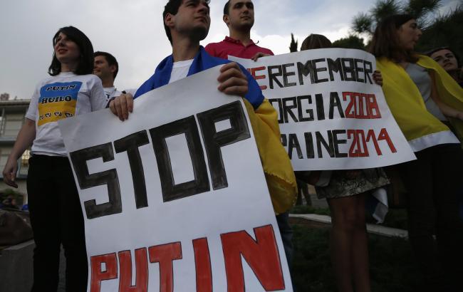 """Фото: акція """"Стоп, Путін!"""" проходить з 2014 року"""