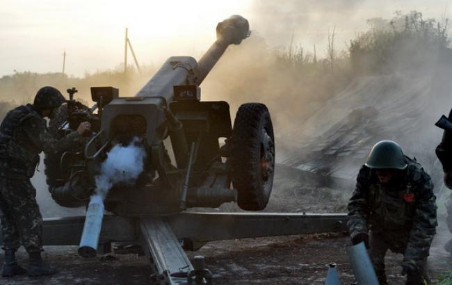 "Боевики за день 46 раз нарушили ""режим тишины"", - штаб АТО"
