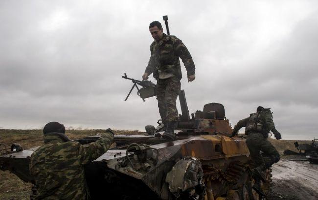 Штаб АТО: После Водяного боевики начали энергичное наступление повсем направлениям