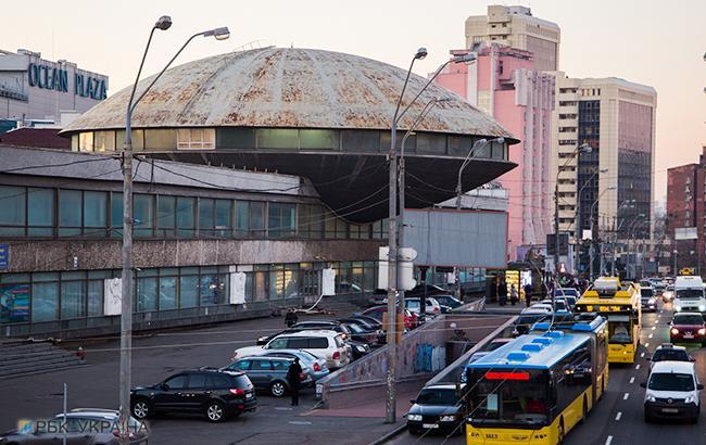 Фото: Здание Института научно-технической и экономической информации (Виталий Носач, РБК-Украина)