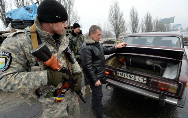 У Донецькій обл. частково відмінено систему пропувсків у зону АТО, - ОДА