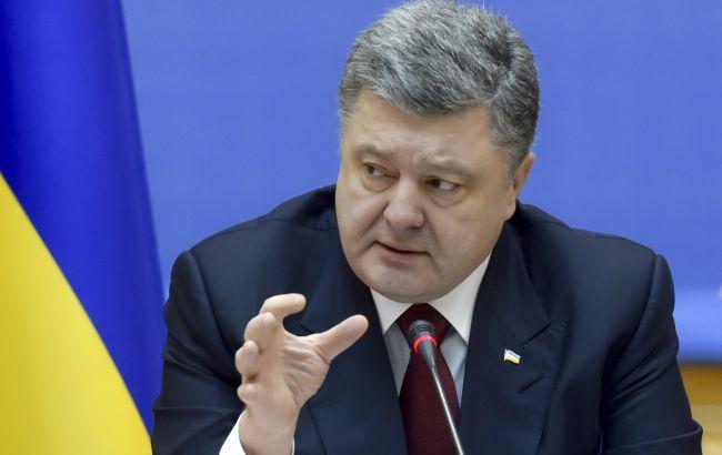 На Донбасі знаходяться 40 тис. бойовиків, - Порошенко