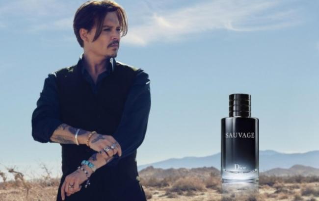 Джонни Депп стал лицом рекламной кампании Dior