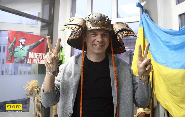 """Телеведущий, автор проекта """"Мир наизнанку"""" Дмитрий Комаров (фото: РБК-Украина)"""