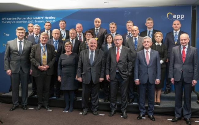 Фото: встреча лидеров партий-членов Европейской народной партии (ba.org.ua)