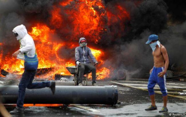 До12 человек выросло число жертв впроцессе беспорядков вВенесуэле