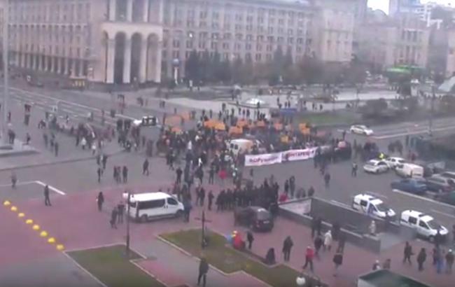Фото: столкновения в Киеве (ТСН)