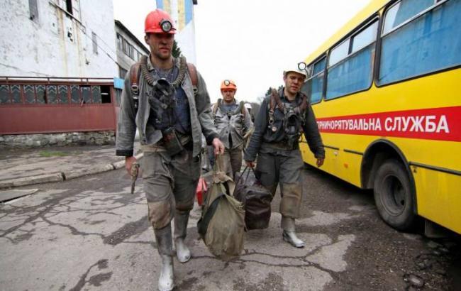 ВТорецке нашахте «Центральная» произошел выброс угля