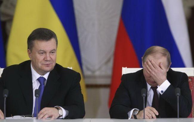 Фото: Віктор Янукович і Володимир Путін