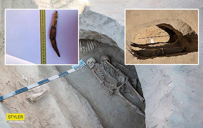 Парная могила: археологи обнаружили уникальное захоронение скифов