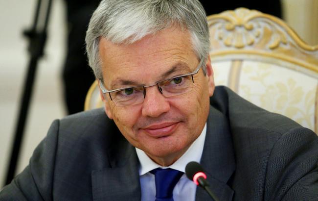 Фото: вице-премьер-министр Бельгии Дидье Рейндерс