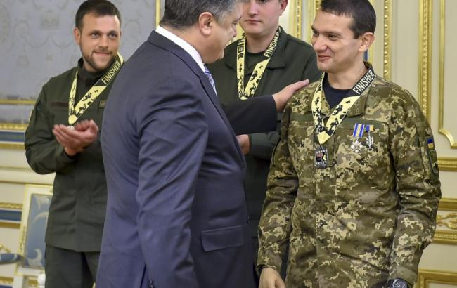 Фото: Порошенко призначив Свириденко уповноваженим з питань реабілітації поранених учасників АТО