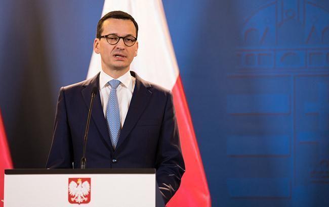 Сейм Польши выразил вотум доверия правительству Моравецкого