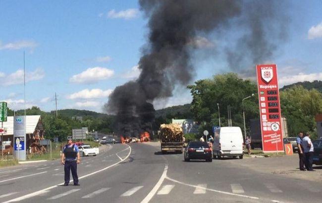 Фото: ситуация в Мукачево