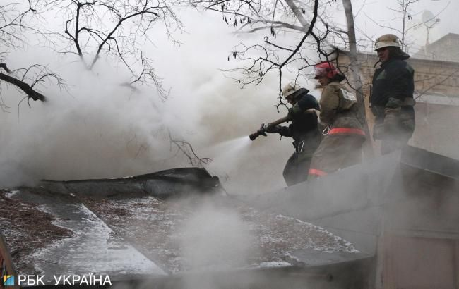 Названа причина пожара в Киевской области