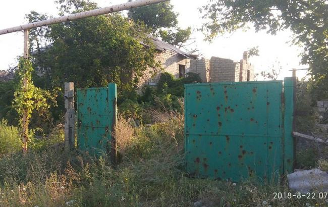 Боевики на Донбассе обстреляли Зайцево, - СЦКК