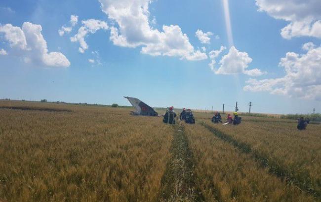 В Румынии потерпел крушение истребитель