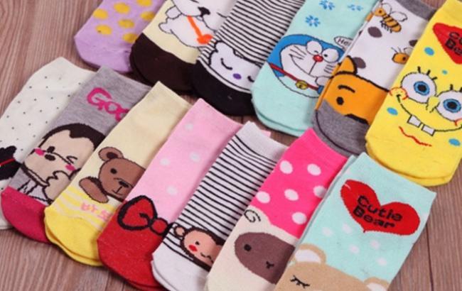 Виды женских носков
