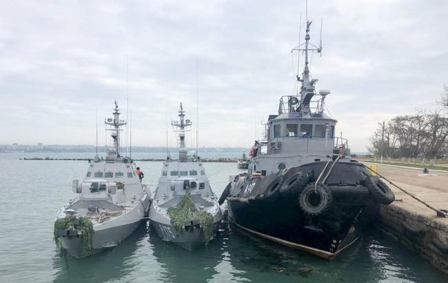 Всі захоплені РФ українські моряки назвали себе військовополоненими