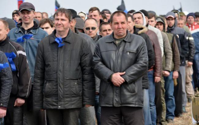"""Фото: Військові збори в """"ДНР"""" (dan-news.info)"""