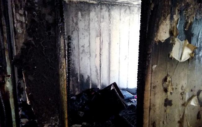 У Харкові у житловому будинку через вибух газу сталась пожежа