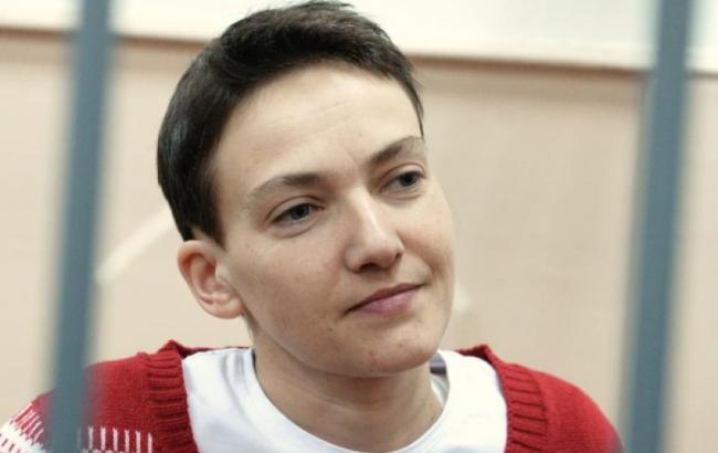 Після винесення вироку суду Савченко має намір розпочати сухе голодування