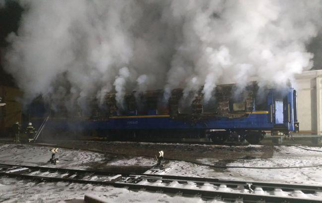 Под Полтавой загорелся вагон поезда, погибли два человека