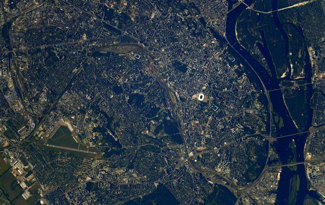 Астронавт NASA сфотографировал Киев из космоса
