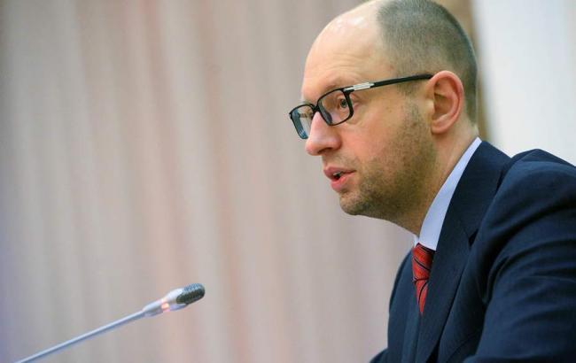Яценюк объявил осохранении «Народным фронтом» места вкоалиции Верховной рады