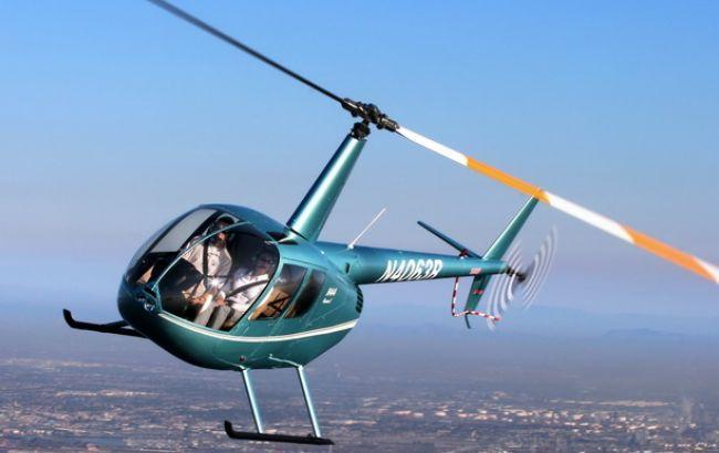 Фото: на Кубани вертолет потерпел крушение