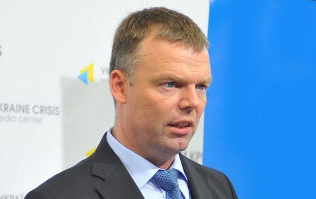 Фото: замглавы миссии ОБСЕ в Украине Александр Хуг