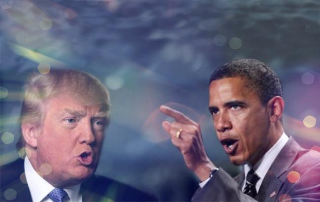 """Фото: Обама """"потроллил"""" Трампа (conclusion.com.ar)"""