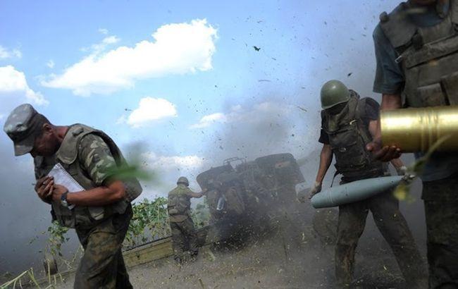 Фото: на сході України активізувалися бойові дії