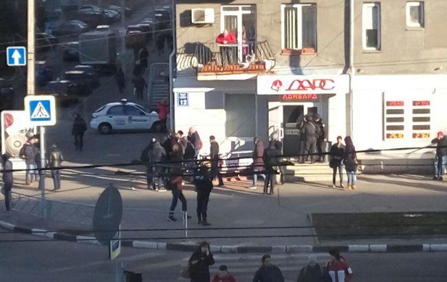 Фото: в центре Харькова произошла стрельба