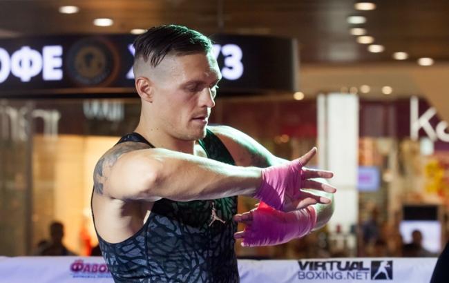 Усик объявил, что непротив боксировать спобедителем боя Лебедев— Гассиев