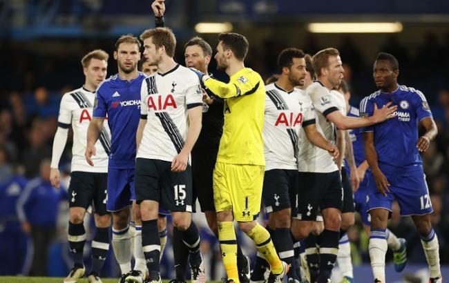 «Тоттенхэм» прервал победную серию «Челси» вчемпионате Британии из13 матчей