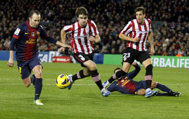 Фото: Барселона - Атлетик, онлайн-трансляція