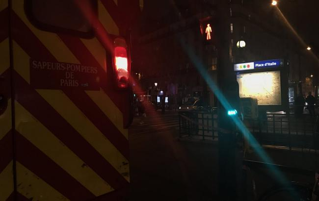 Фото: в метро Парижа произошло задымление