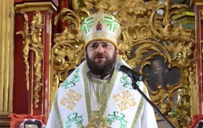 Священник УАПЦ Мстислав (скриншот youtube.com/ТСН)