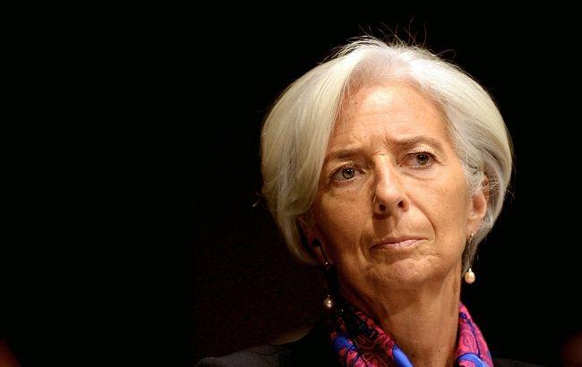 Глава МВФ Лагард дала песимістичний прогноз по зростанню світової економіки