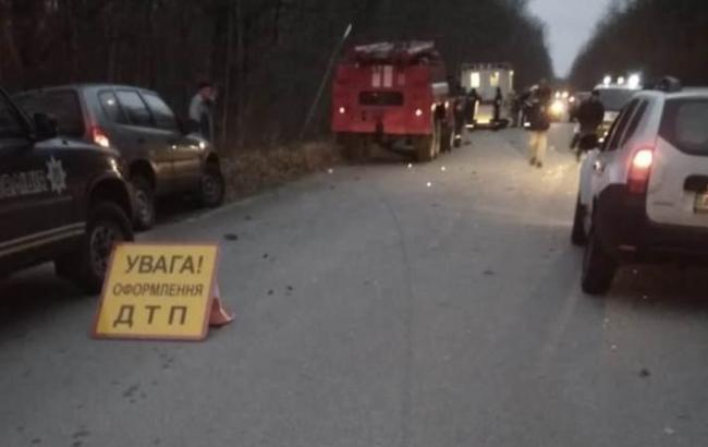 У ДТП у Чорнобильській зоні постраждали четверо іноземців