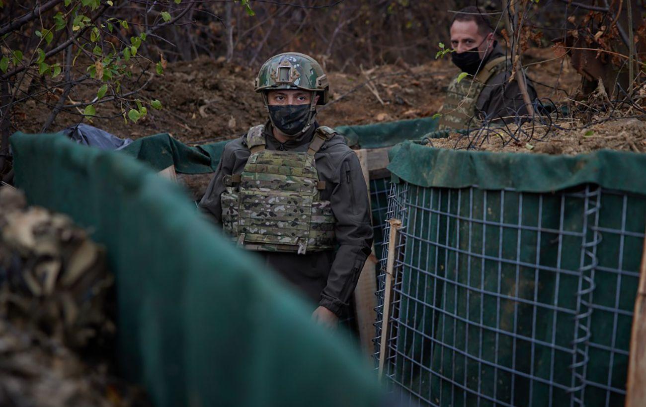 Зеленский об обострении на Донбассе: когда бьют по наших бойцах, армия отвечает