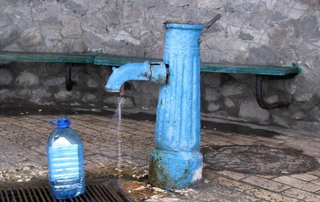 Вода в 43 бюветах Киева не соответствует санитарно-химическим нормам
