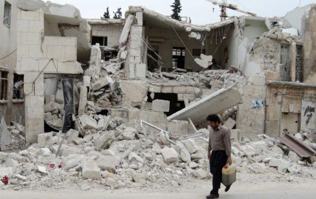 Фото: правительственная авиация сбросила бомбы на районы северной провинции Идлиб